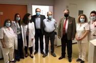 Πάτρα: Πήρε εξιτήριο ο κ. Βασίλης - Ο πρώτος ασθενής της Καρδιοθωρακοχειρουργικής Κλινικής