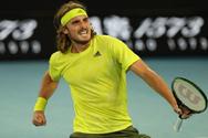 Τένις: Σταθερά πέμπτος ο Τσιτσιπάς, άνοδο στη δεύτερη θέση για Μεντβέντεφ