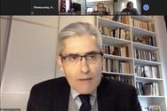 Ο Άγγελος Τσιγκρής στην τηλεδιάσκεψη για το Tμήμα Φυσικοθεραπείας Αιγίου (video)