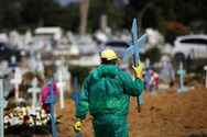 Κορωνοϊός - Βραζιλία: Νέο τραγικό ρεκόρ με 3.869 θανάτους