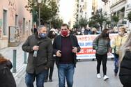 Ο Δήμαρχος Πατρέων Κώστας Πελετίδης στην συγκέντρωση του ΕΚΠ για την υγεία (φωτο)