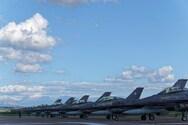 Μαχητικά αεροσκάφη στον Άραξο για την άσκηση