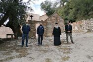 Πάτρα: Την Ιερά Μονή Ομπλού επισκέφθηκε ο Φωκίων Ζαΐμης