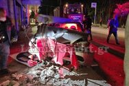 Λαμία: Νεαρή μητέρα «έσβησε» στο τιμόνι με τα παιδιά της μέσα στο αυτοκίνητο (pics+video)