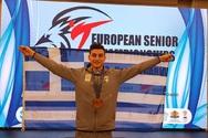 «Χάλκινος» πρωταθλητής Ευρώπης ο Κωνσταντίνος Χαμαλίδης