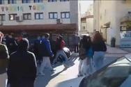 Θεσσαλονίκη - Πιάστηκαν στα χέρια μαθητές σε υπό κατάληψη σχολείο (video)