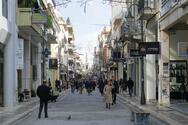 Πάτρα: Η αγορά άνοιξε, ο διακόπτης παραμένει στο