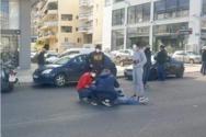 Πάτρα: Τροχαίο με τραυματισμό στη Αθηνών Πατρών και Λευκωσίας (φωτο)
