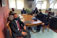 Σύσκεψη στο γραφείο του Αντιπεριφερειάρχη Π.Ε. Αχαΐας Χαράλαμπου Μπονάνου, εν όψει της λειτουργίας της εστίασης