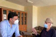 Συνάντηση Κικίλια με τον πρώτο εμβολιασθέντα στη χώρα