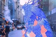 «Πλάσματα της Ελπίδας» σεργιανίζουν στη Νέα Υόρκη