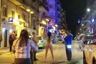 Θεσσαλονίκη: Ολόγυμνη γυναίκα περπατούσε σε κεντρικό δρόμο (φωτο)