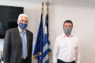 Πάτρα: Συνάντηση Φ. Ζαΐμη με τον Γενικό Γραμματέα Ψηφιακής Διακυβέρνησης και Απλούστευσης Διαδικασιών, Λ. Χριστόπουλο