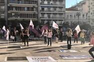 Κινητοποίηση των εικαστικών στο κέντρο της Πάτρας (φωτο)