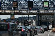 Άρση μετακινήσεων: Περισσότερα από 125.000 οχήματα πέρασαν από τα διόδια Ελευσίνας και Αφιδνών