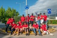 Τίμησαν και στην Πάτρα την Red Day - Εθελοντές φύτεψαν τριανταφυλλιές στο Γ.Ν.