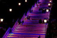 Πάτρα: Με μωβ χρώμα θα φωταγωγηθούν οι σκάλες της Αγίου Νικολάου την Τετάρτη
