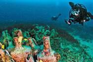 Από 1η Ιουνίου θα είναι επισκέψιμο το υποθαλάσσιο μουσείο Περιστέρας στην Αλόννησο