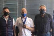Ξανά στο βάθρο της Ευρώπης ο Ναυπάκτιος Βασίλης Παναγιωτόπουλος