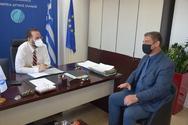 Πάτρα: Συνάντηση του Ν. Φαρμάκη με τον Αντιπρόεδρο του ΕΛΓΑ, Ν. Δούκα