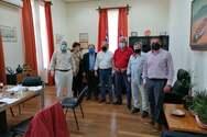 Αντιπροσωπεία του ΣΥΡΙΖΑ - Προοδευτική Συμμαχία Αχαΐας είχε συνάντηση εργασίας με τον Δήμαρχο Αιγιαλείας
