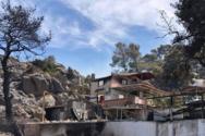 Φωτιά στο Σχίνο Κορινθίας: Εκκενώθηκαν τέσσερις οικισμοί, κάηκαν σπίτια (φωτο+video)
