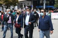 Πάτρα: Ο Δήμαρχος συμμετείχε στο συλλαλητήριο του Εργατικού Κέντρου