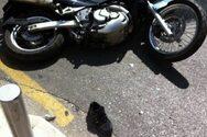 Τροχαίο στη ΝΕΟ Πατρών-Κορίνθου - Δικυκλιστής βρέθηκε στο έδαφος