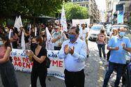 Πάτρα: H Δημοτική Αρχή μαζί με τους εργαζόμενους κατά του εργατικού νομοσχεδίου (φωτο)