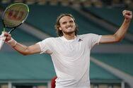 ΕΟΦΑ: Ολοκληρώθηκε ο άθλος του Στέφανου Τσιτσιπά στο Roland Garros