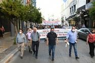Πάτρα: Ο Δήμαρχος συμμετείχε στο συλλαλητήριο κατά του εργατικού νομοσχεδίου