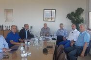 Συνάντηση της παράταξης Δικαίωμα στην Πρόοδο με την Παναιγιάλειο Ένωση Συνεταιρισμών
