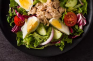 Σαλάτα με τόνο και αβγά