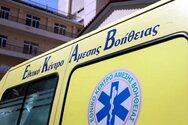 Πάτρα: Τροχαίο με τραυματισμό στην περιοχή Πράτσικα