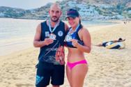 Δεύτερη η Μοσχούλα Πατακοπούλου στο Πανελλήνιο πρωτάθλημα beach volley