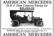 Σαν σήμερα 23 Ιουνίου το όνομα «Mercedes» υιοθετείται για πρώτη φορά ως εμπορική επωνυμία