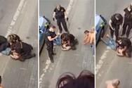 Τσεχία: Σκηνικό Φλόιντ - Αστυνομικός γονατίζει στον λαιμό Ρομά και τον σκοτώνει