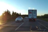 Oδηγός κάνει την γκάφα του αιώνα (video)