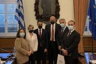 Χριστίνα Αλεξοπούλου : Συνάντηση Προεδρείου Επιτροπής Μορφωτικών Υποθέσεων με τον Υπουργό και Αναπληρωτή Υπουργό Ανώτατης Παιδείας και Επιστημονικής Έρευνας της Περιφερειακής Κυβέρνησης του Κουρδιστάν