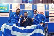 Παγκόσμιο πρωτάθλημα ξιφασκίας με αμαξίδιο: Χάλκινο μετάλλιο η Ελλάδα στο ομαδικό σπάθης ανδρών