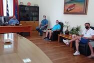 Ζητήματα της Κοινότητας Κερύνειας, σε συνάντηση δημάρχου Αιγιαλείας με τον πρόεδρο του χωριού