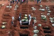 Βραζιλία - covid-19: 1.556 θάνατοι και 57.736 κρούσματα σε 24 ώρες