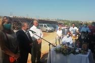 Αχαΐα: Σε κλίμα συγκίνησης η τελετή θεμελίωσης του νέου ΕΚΑΜΕ Αιγιαλείας