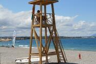 Αχαΐα: Ναυαγοσωστική κάλυψη στις πολυσύχναστες παραλίες Λόγγου, Αλυκής και Ακράτας