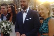 Κορφιάτης - Αγγελοπούλου: Παντρεύτηκαν σε ονειρικό σκηνικό στο Λαζαρέτο (φωτο)