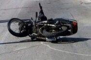 Πάτρα: Τροχαίο με δύο τραυματίες - Μηχανάκι έχασε τον έλεγχο
