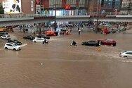 Κίνα: 33 οι νεκροί από τις πλημμύρες