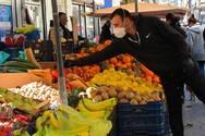 Μέτρα προστασίας στη λαϊκή αγορά της Κάτω Αχαΐας