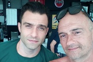Τζαβέλας - Μάλλιος: Τον πέτυχε στον Λόγγο και έσπευσε να φωτογραφηθεί μαζί του