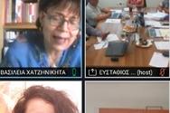 Η Βοηθός Περιφερειάρχη Αμαλία Βούλγαρη συμμετείχε σε τηλεδιάσκεψη με το ΕΑΠ